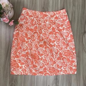 Anthropologie Odille Woodblock Butterfly Skirt, 4
